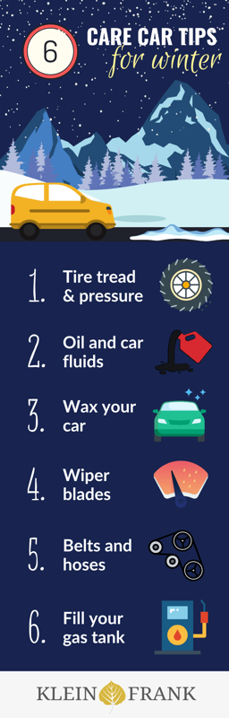 Winterize Your Vehicle Against the Cold and Snow - Klein Frank [infographic]